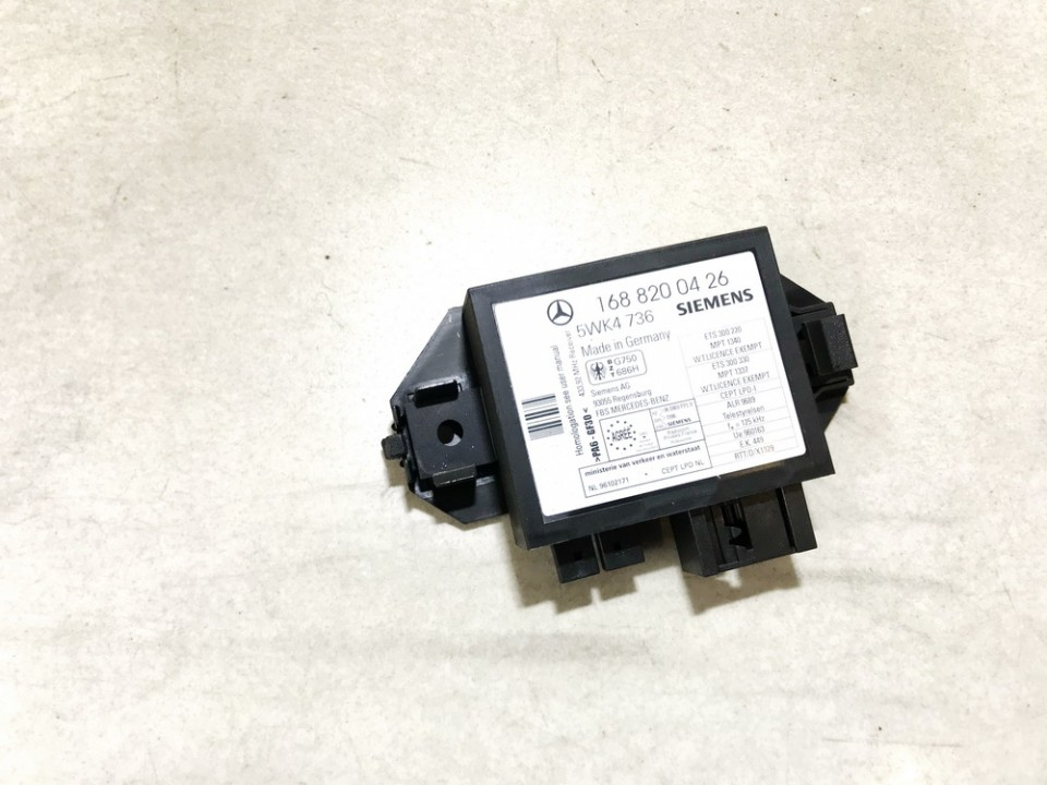 Immobiliser ECU Mercedes-Benz A-CLASS 1999    1.7 1688200426