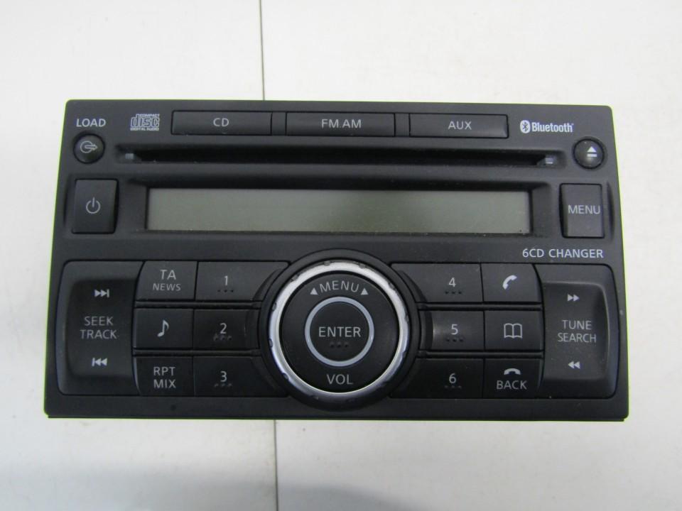Autoradio Nissan Qashqai 2009    1.5 28184JD45A