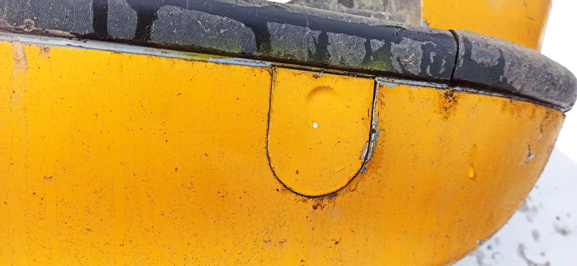 Tow Hook Cover rear (bumper towing cap front) Opel Zafira 2000    2.0 Geltona