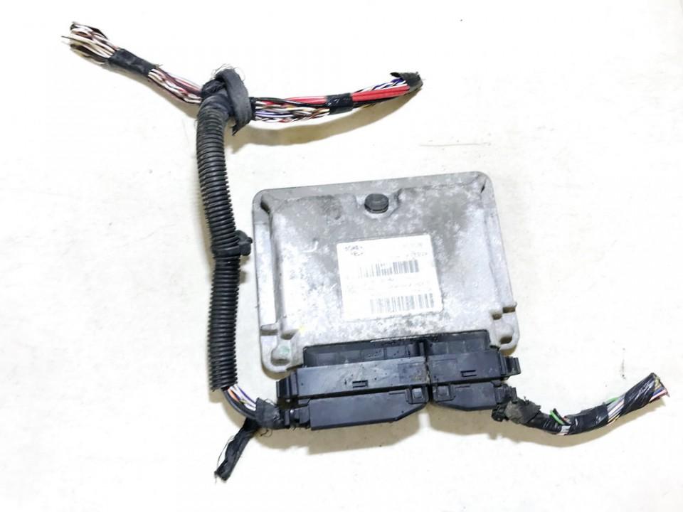 Variklio kompiuteris 55196260 6160112501, 4kpe9zt7g Fiat PANDA 2006 1.1