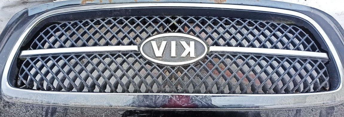 Front hood grille Kia Carnival 2005    2.9 used