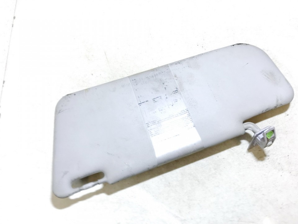 Sun Visor, With Light and Mirror and Clip Fiat Panda 2006    1.0 used