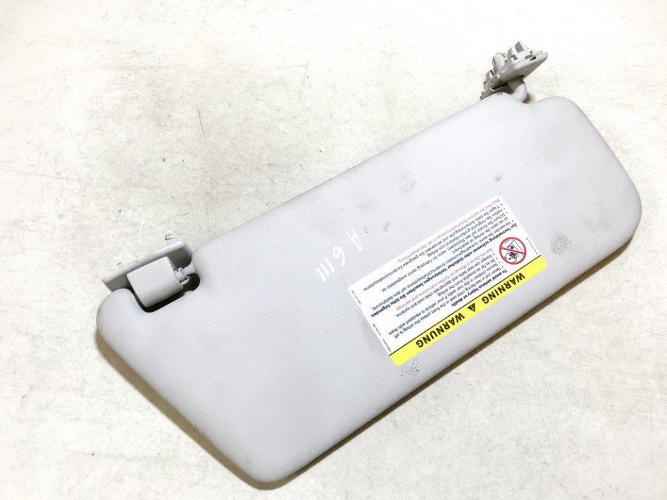 Sun Visor, With Light and Mirror and Clip Mercedes-Benz A-CLASS 2005    2.0 used