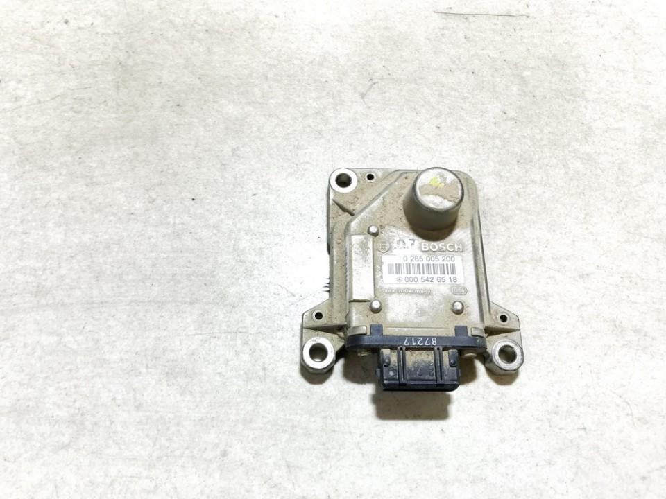 Esp Accelerator Sensor (ESP Control Unit) Mercedes-Benz A-CLASS 1999    1.7 0265005200