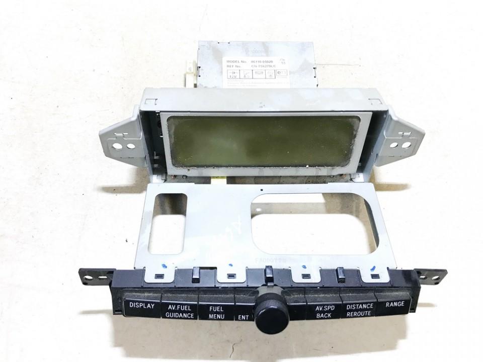 Dashboard Radio Display (Clock,Info Monitor,BORD COMPUTER) Toyota Avensis 2005    2.0 8611005020