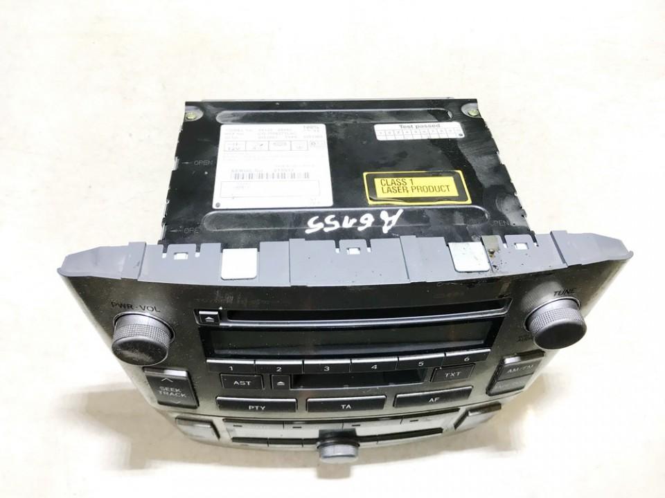 Peciuko valdymas ir automagnetola Toyota Avensis 2005    2.0 8612005080