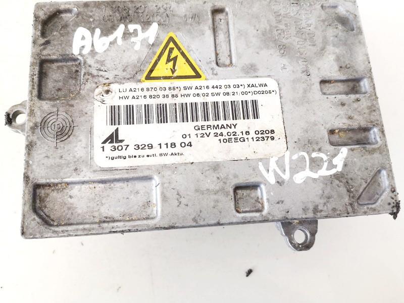Zibinto xenon blokelis Mercedes-Benz S-CLASS 2007    3.0 130732911804