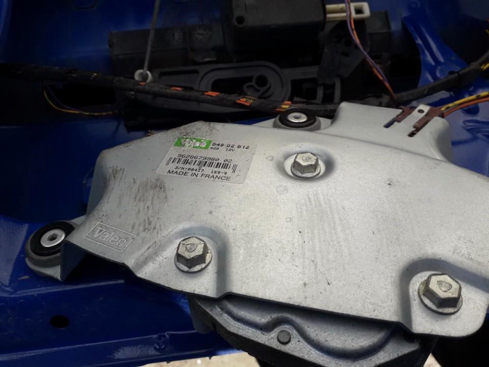 Rear wiper motor (Rear Screen Wiper Engine) Peugeot 206 2000    1.5 54902612
