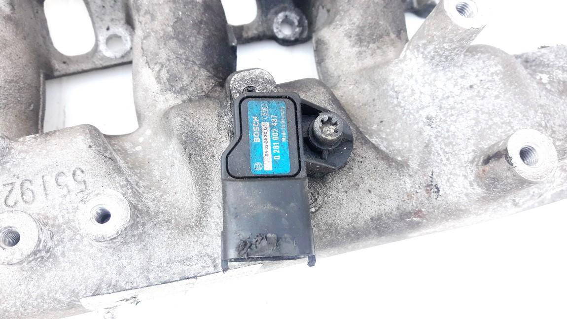 Air Pressure MAP Sensor Manifold Boost Opel Zafira 2006    1.9 0281002437