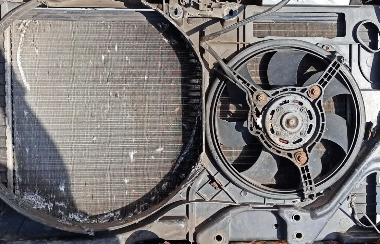 Diffuser, Radiator Fan Audi 80 1993    1.9 used