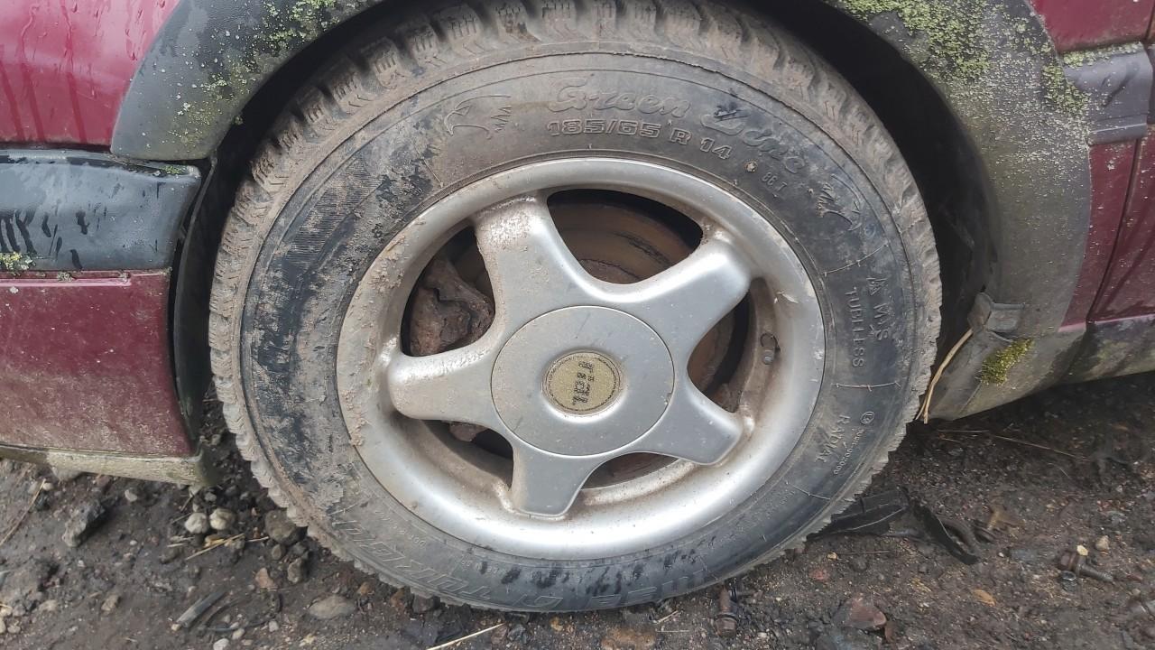 Lietu ratu komplektas R14 Volkswagen Vento 1995    1.9 used