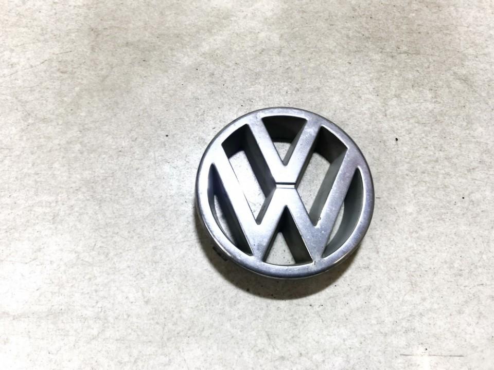Priekinis zenkliukas (Emblema) Volkswagen Golf 1995    0.0 3a0853601