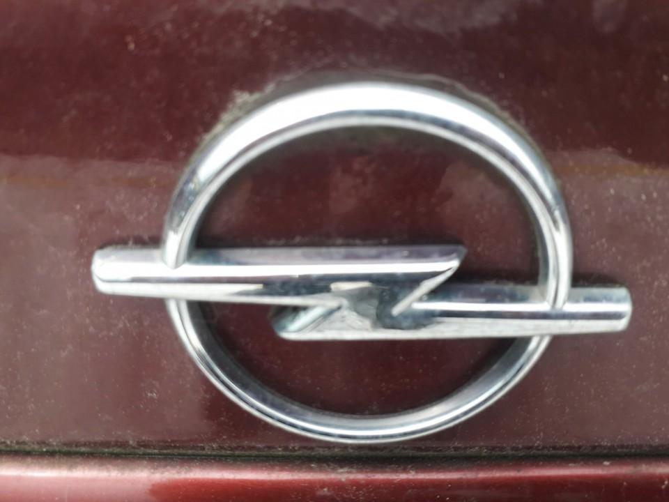 Galinis zenkliukas (Emblema) Opel Vectra 2000    2.0 USED