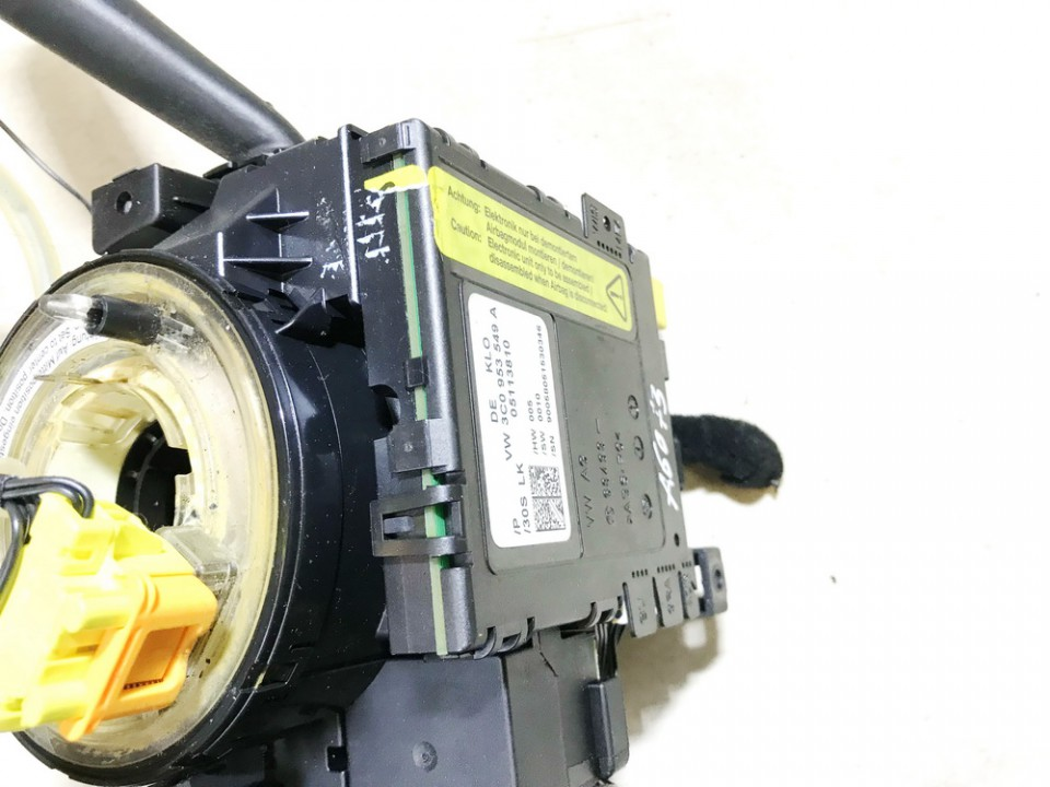 Steering Wheel Angle Controller Sensor Volkswagen Passat 2005    1.9 3c0953549a