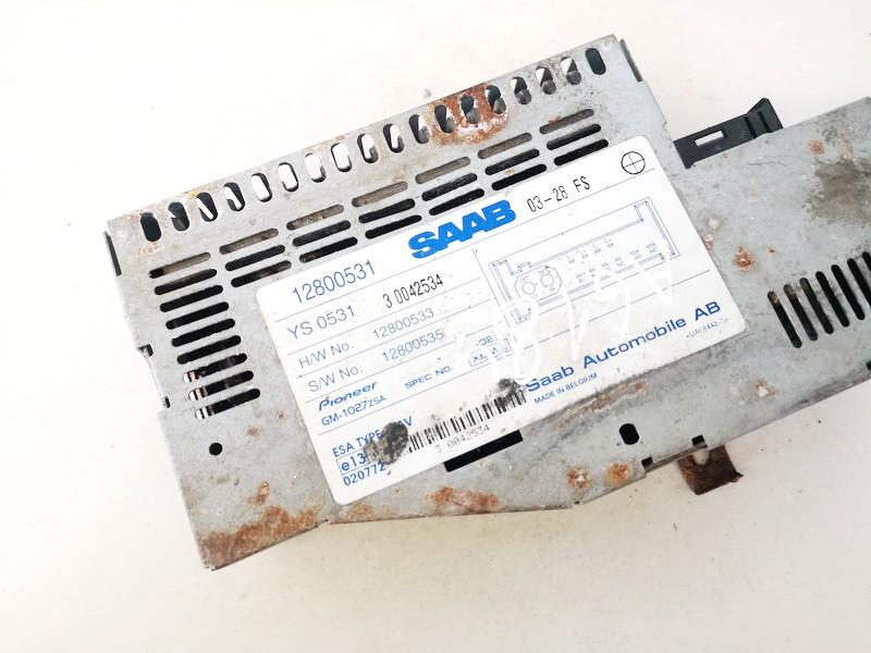 Audio amplifier (Radio Stereo Amplifier) SAAB 9-3 2004    2.0 12800531