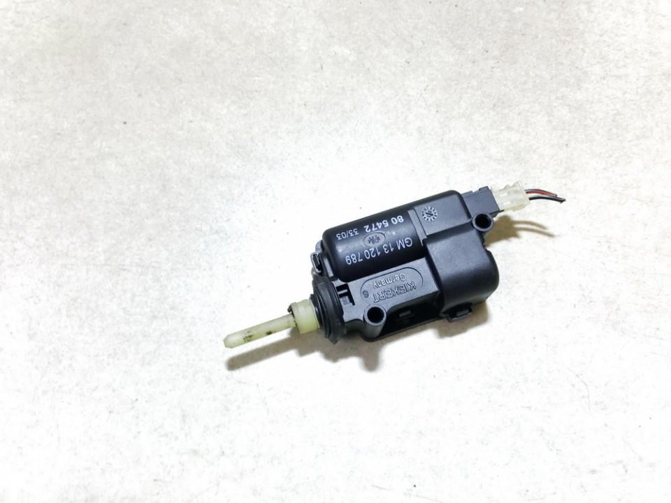 Central locking motor Opel Zafira 2003    2.2 13120789