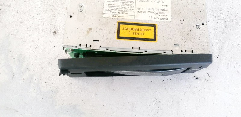 CD changers BMW 5-Series 2005    0.0 65129131850