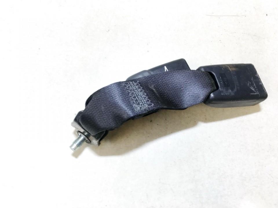used used Seat belt holder (Seat belt Buckle) rear middle Subaru Legacy 2010 2.0L 14EUR EIS01111597
