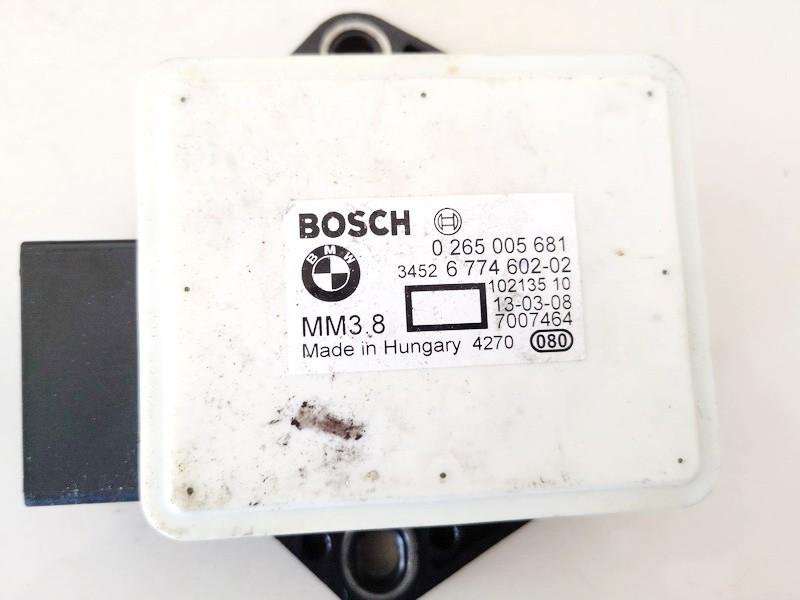 Esp Accelerator Sensor (ESP Control Unit) BMW 5-Series 2004    0.0 0265005681