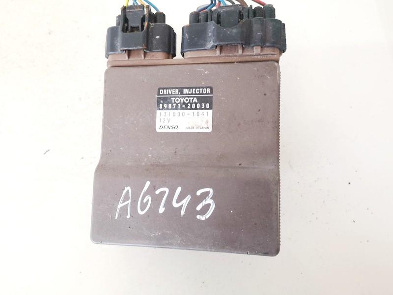 Kuro purkstuku valdymo blokas (kompiuteris) Toyota Corolla 2002    2.0 8987120030