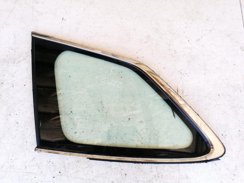 Subaru  Legacy Rear Left  side corner quarter window glass