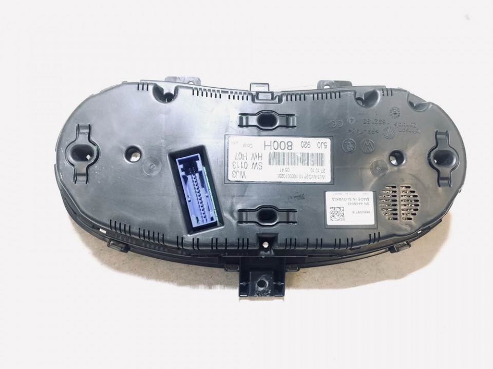 Spidometras - prietaisu skydelis Skoda Fabia 2010    1.2 5j0920800h