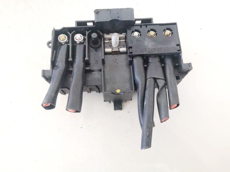 battery terminal Mercedes-Benz C-CLASS 2000    2.2 a2035450803