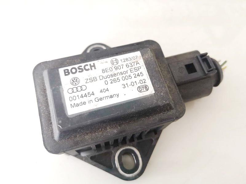 Esp Accelerator Sensor (ESP Control Unit) Audi A4 2002    1.9 8e0907637a