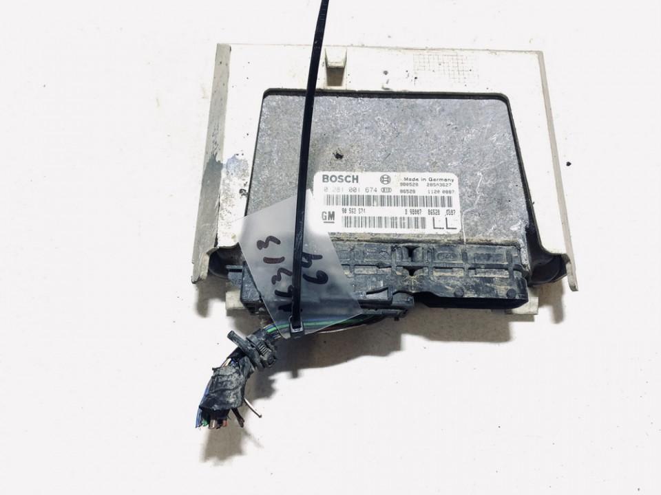 Variklio kompiuteris Opel  Astra