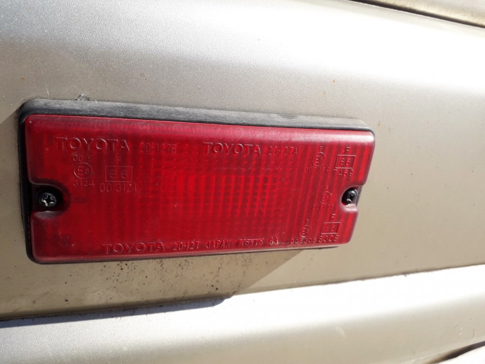 Ruko zibintai G.K. Toyota RAV-4 2002    2.0 USED