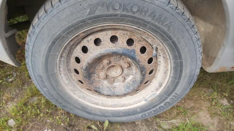 Skardiniu ratu komplektas R14 Toyota Yaris Verso 2001    1.3 used