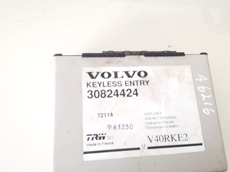 General Module Comfort Relay (Unit) Volvo V40 1997    1.9 30824424