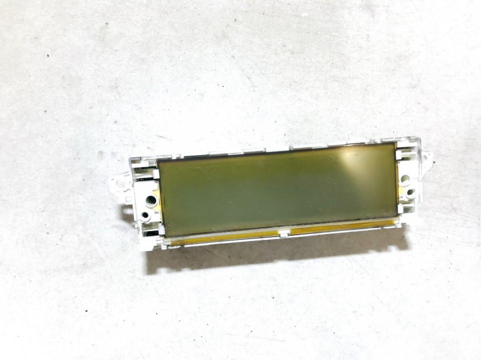 Dashboard Radio Display (Clock,Info Monitor,BORD COMPUTER) Citroen C4 2006    1.6 9657882880