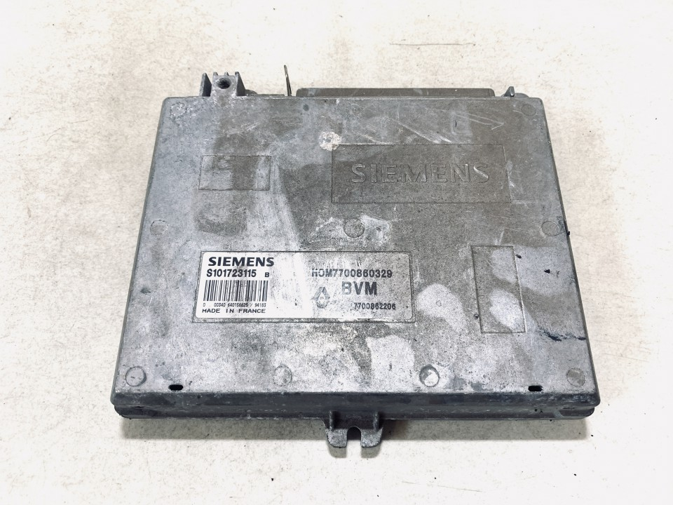 7700862206 s101723115, h0m7700860329 Variklio kompiuteris Renault Espace 1993 2.2L 27EUR EIS01130822