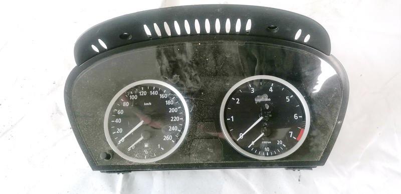 Spidometras - prietaisu skydelis BMW 5-Series 2003    2.2 62116944118