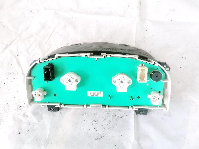 Spidometras - prietaisu skydelis Peugeot Partner 2001    1.9 5514000070