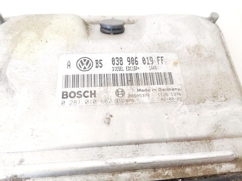Variklio kompiuteris Volkswagen Bora 2002    1.9 038906019ff