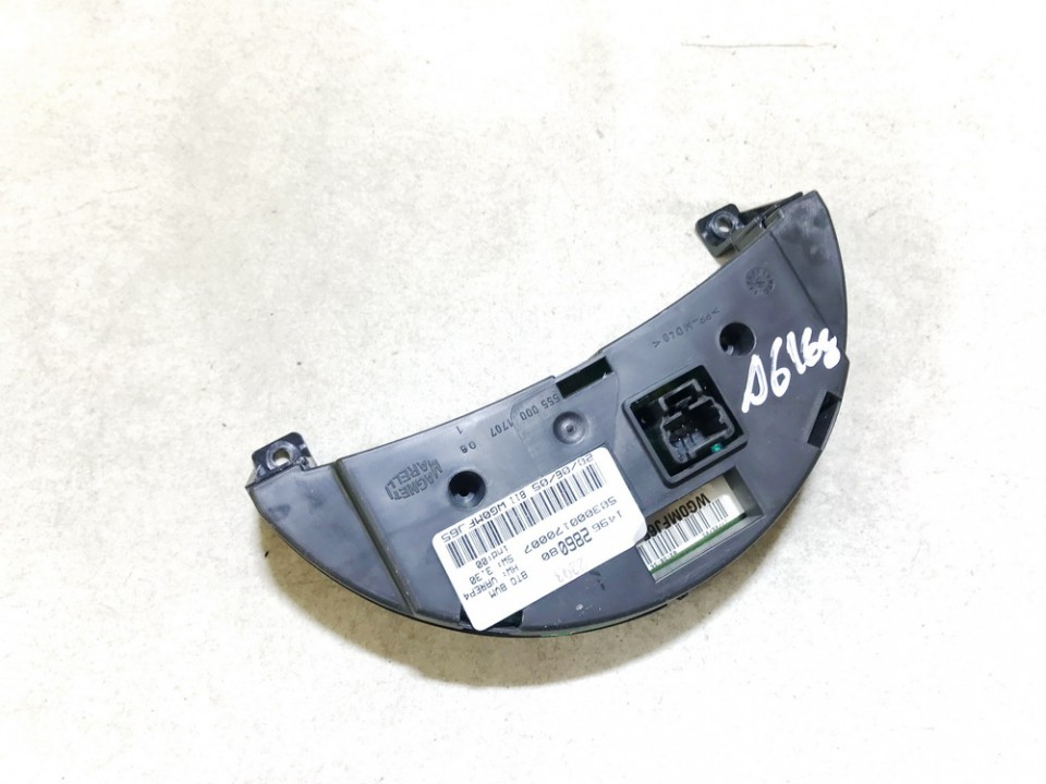 Dashboard Radio Display (Clock,Info Monitor,BORD COMPUTER) Peugeot 807 2005    2.2 1496286080