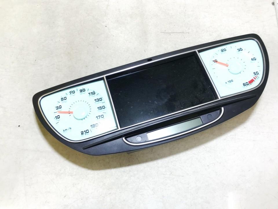 Spidometras - prietaisu skydelis Peugeot 807 2005    2.2 1400098680