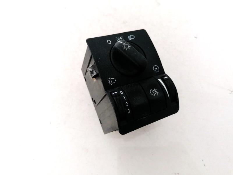 Headlight adjuster switch (Foglight Fog Light Control Switches) Opel Astra 1999    2.0 09133250