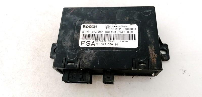 Parktroniku kompiuteris Peugeot 407 2005    2.0 0263004095