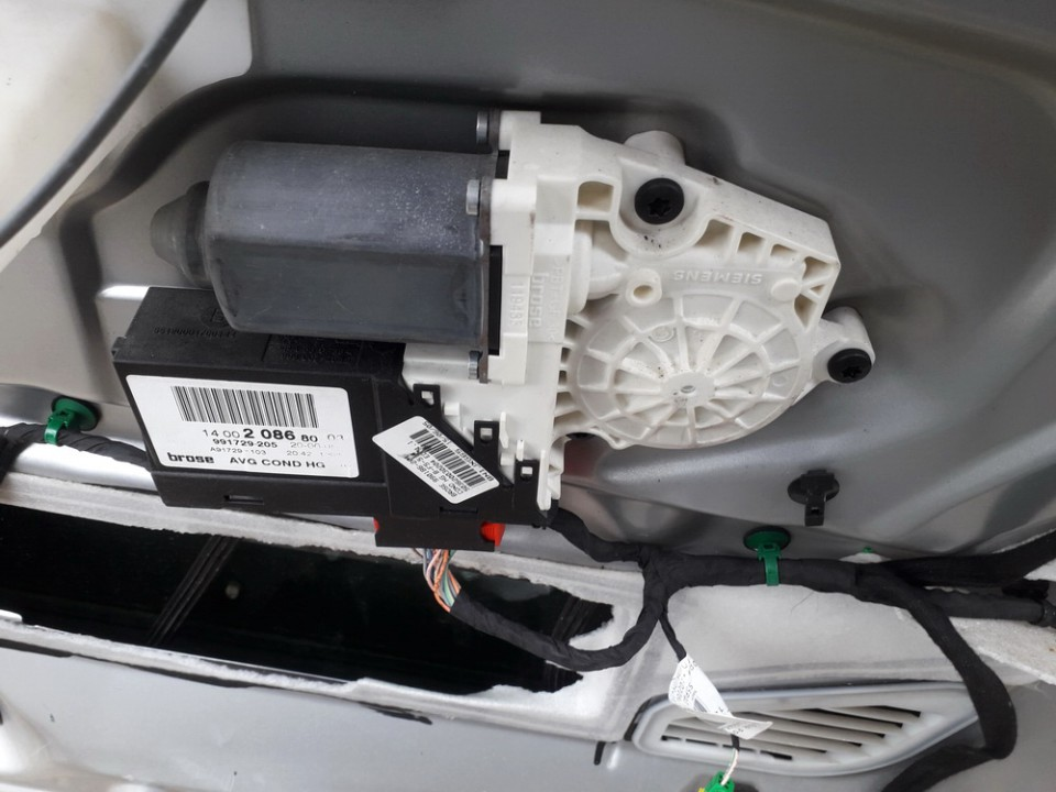Duru lango pakelejo varikliukas P.K. Peugeot 807 2005    2.2 991729205