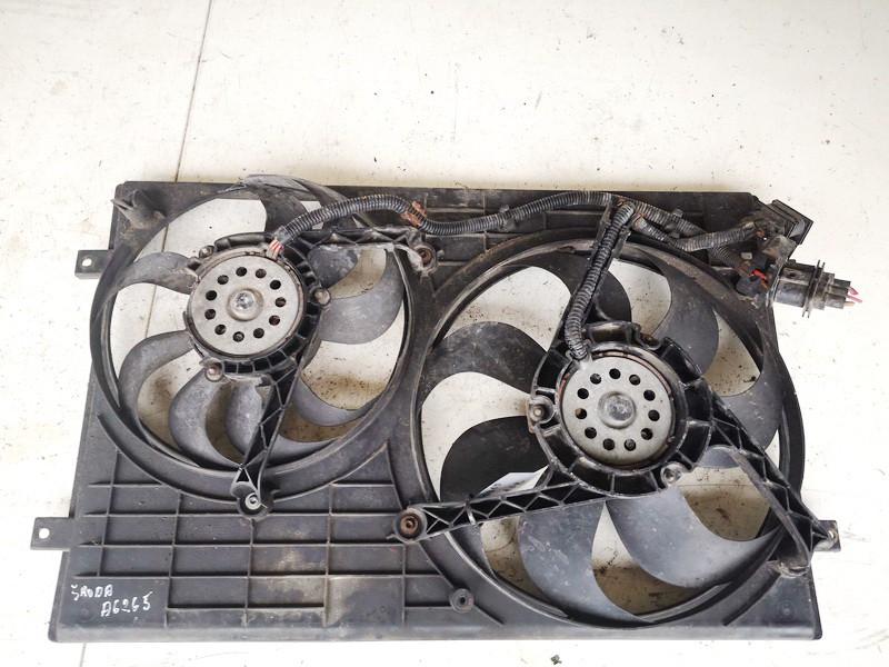 Difuzorius (radiatoriaus ventiliatorius) Skoda Fabia 2001    1.9 6q0121207a