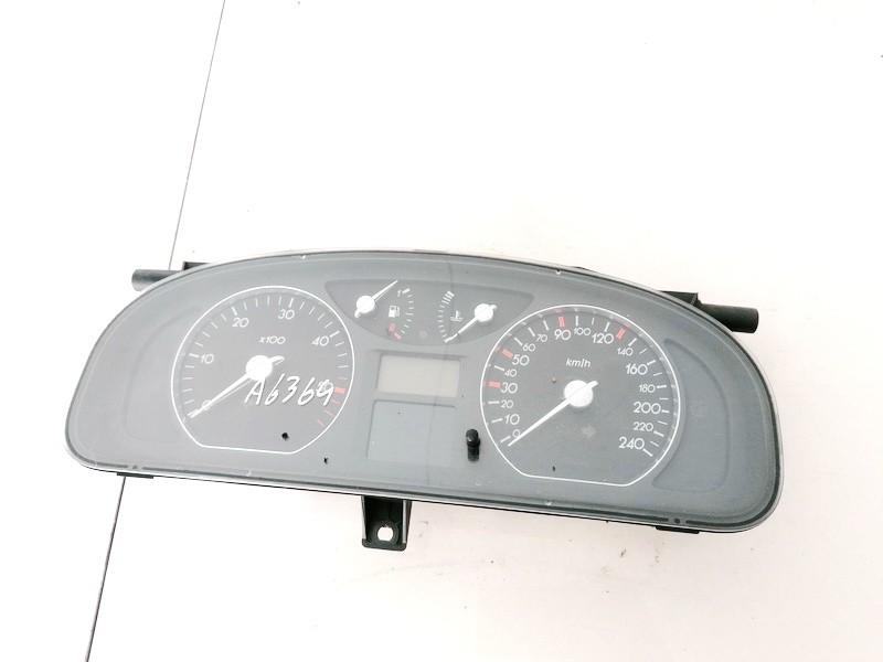 Spidometras - prietaisu skydelis Renault Laguna 2001    1.9 8200013775