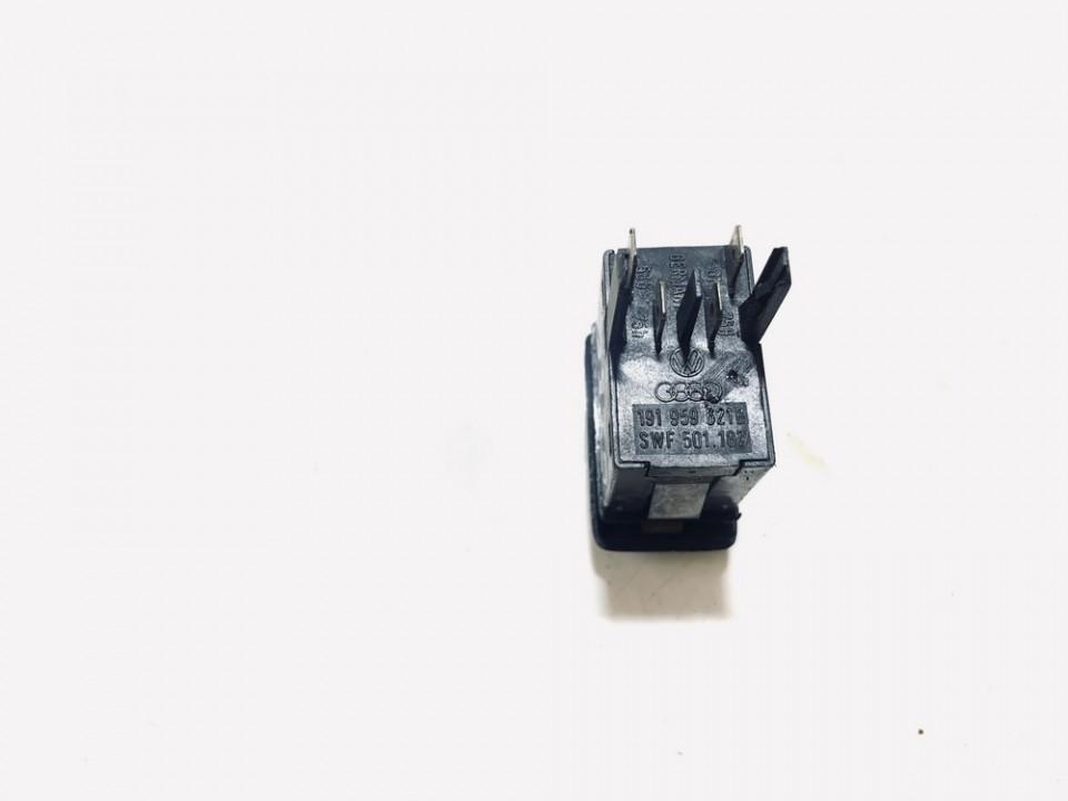 Stiklo sildymo mygtukas Volkswagen Golf 1989    1.3 191959621b