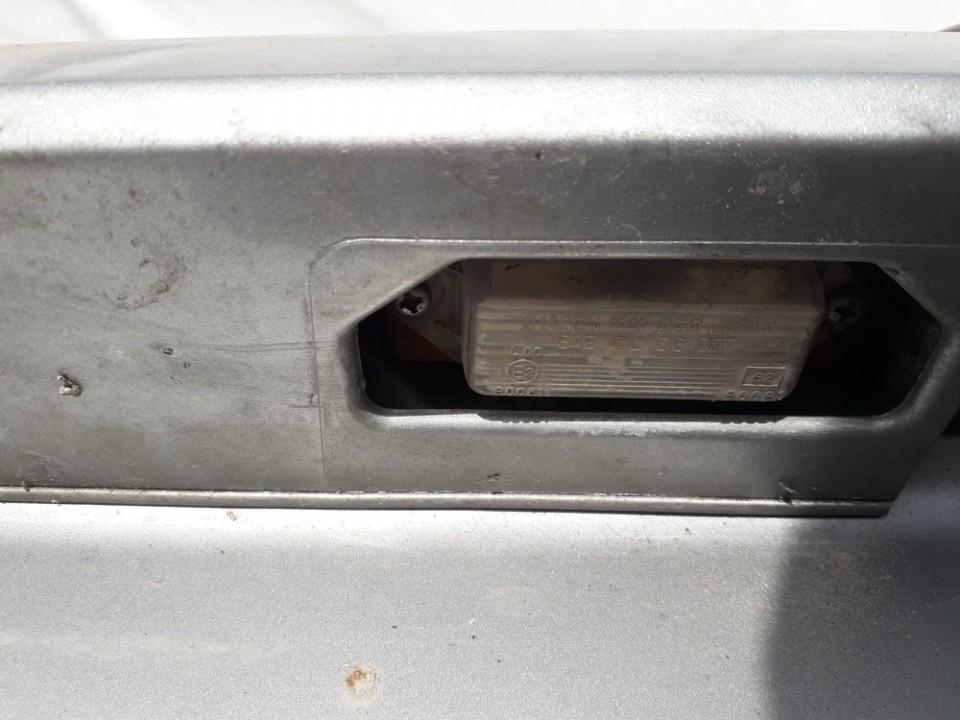 Numerio apsvietimas Mitsubishi Galant 1999    2.0 USED