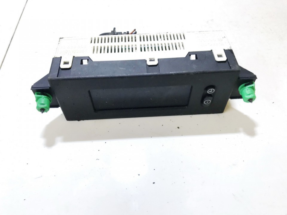 Dashboard Radio Display (Clock,Info Monitor,BORD COMPUTER) Opel Astra 2001    1.7 24428043