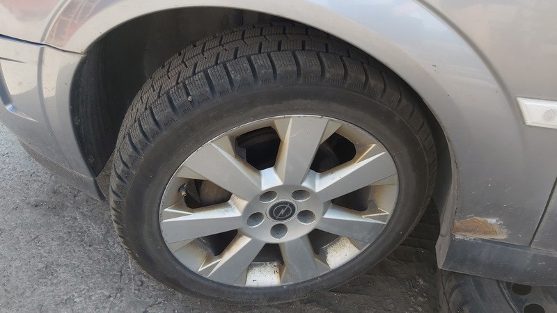 Lietu ratu komplektas R17 Opel Signum 2003    2.2 used