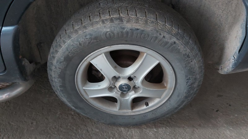 Lietu ratu komplektas R16 Hyundai Santa Fe 2003    2.0 used