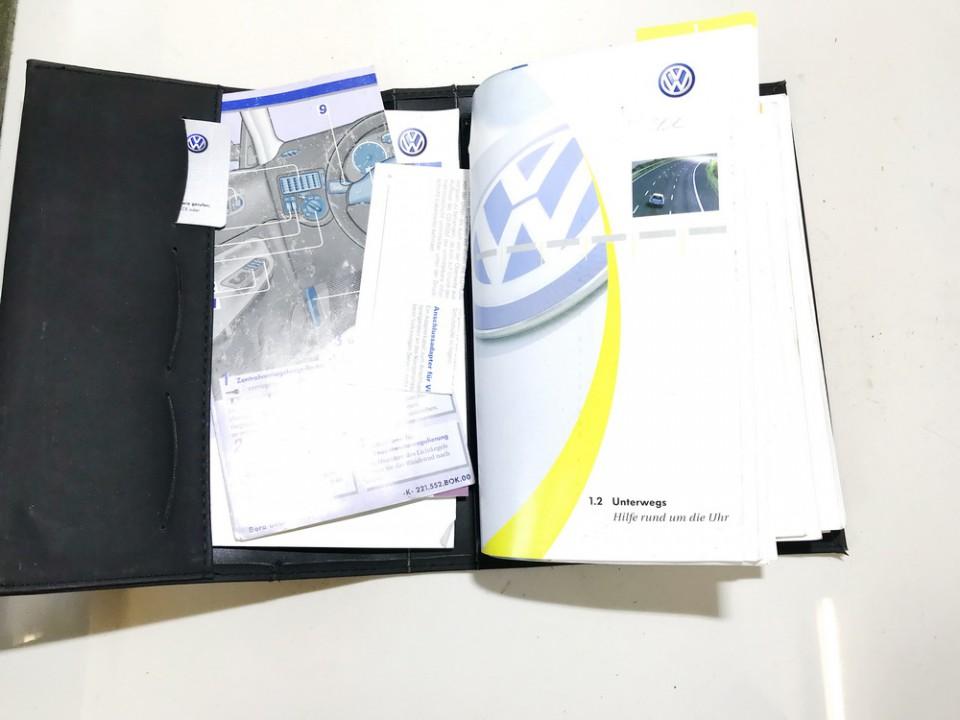 Manual Handbook Wallet (service manual) Volkswagen Bora 2002    1.9 used